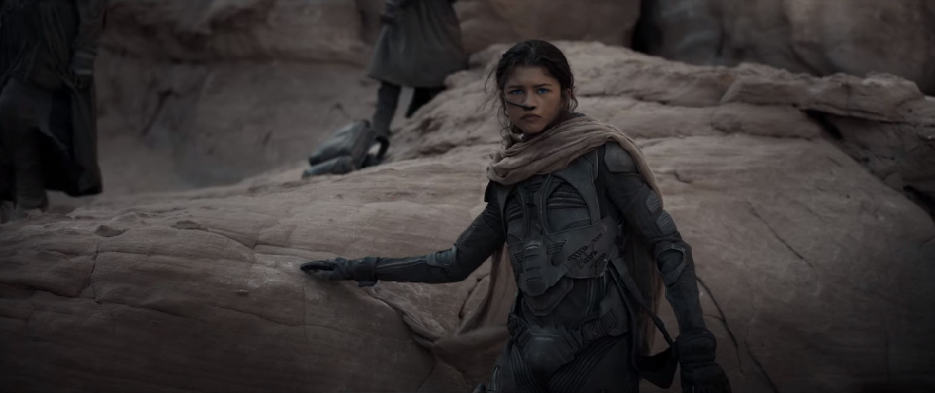 Dune movie trailer Zendaya as Chani