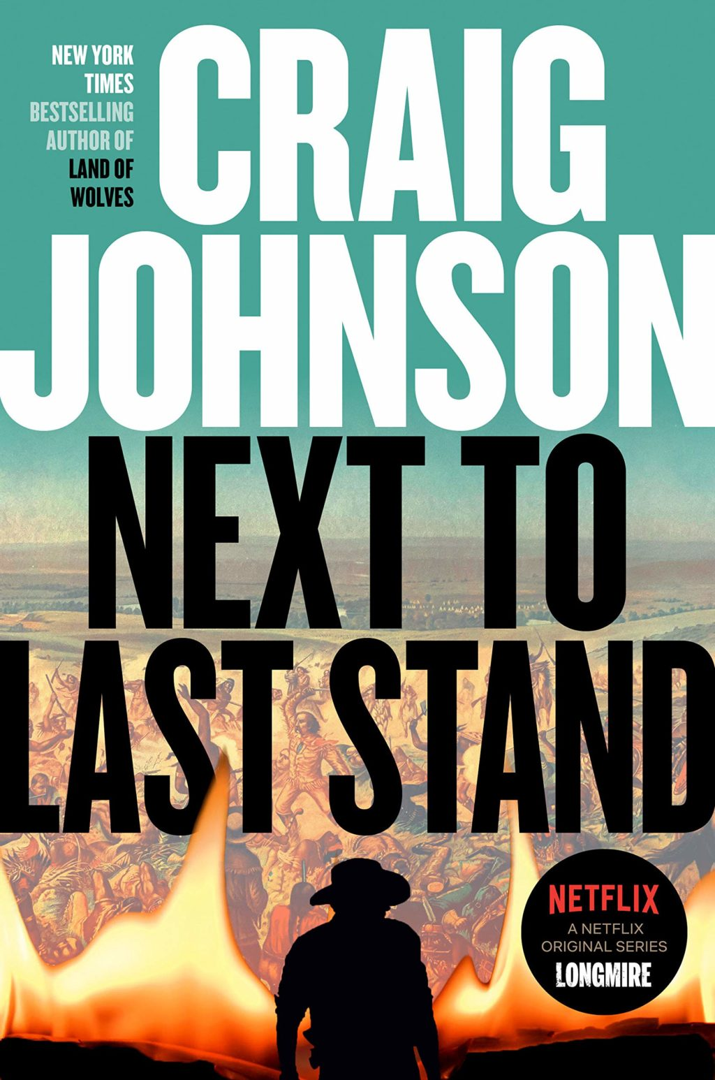 The Next To Last Stand cover by Craig Johnson