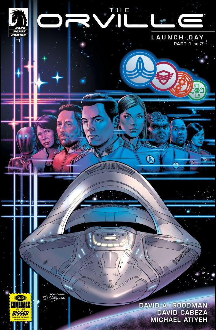 The Orville Launch Day Part 1 cover