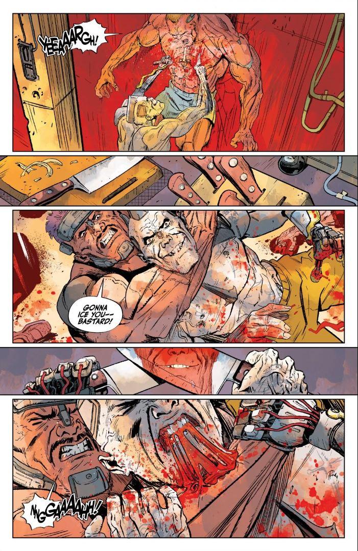 Cyberpunk 2077 Trauma Team #3 The Client shows super strength