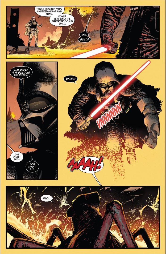 Darth Vader issue #7 talking about power