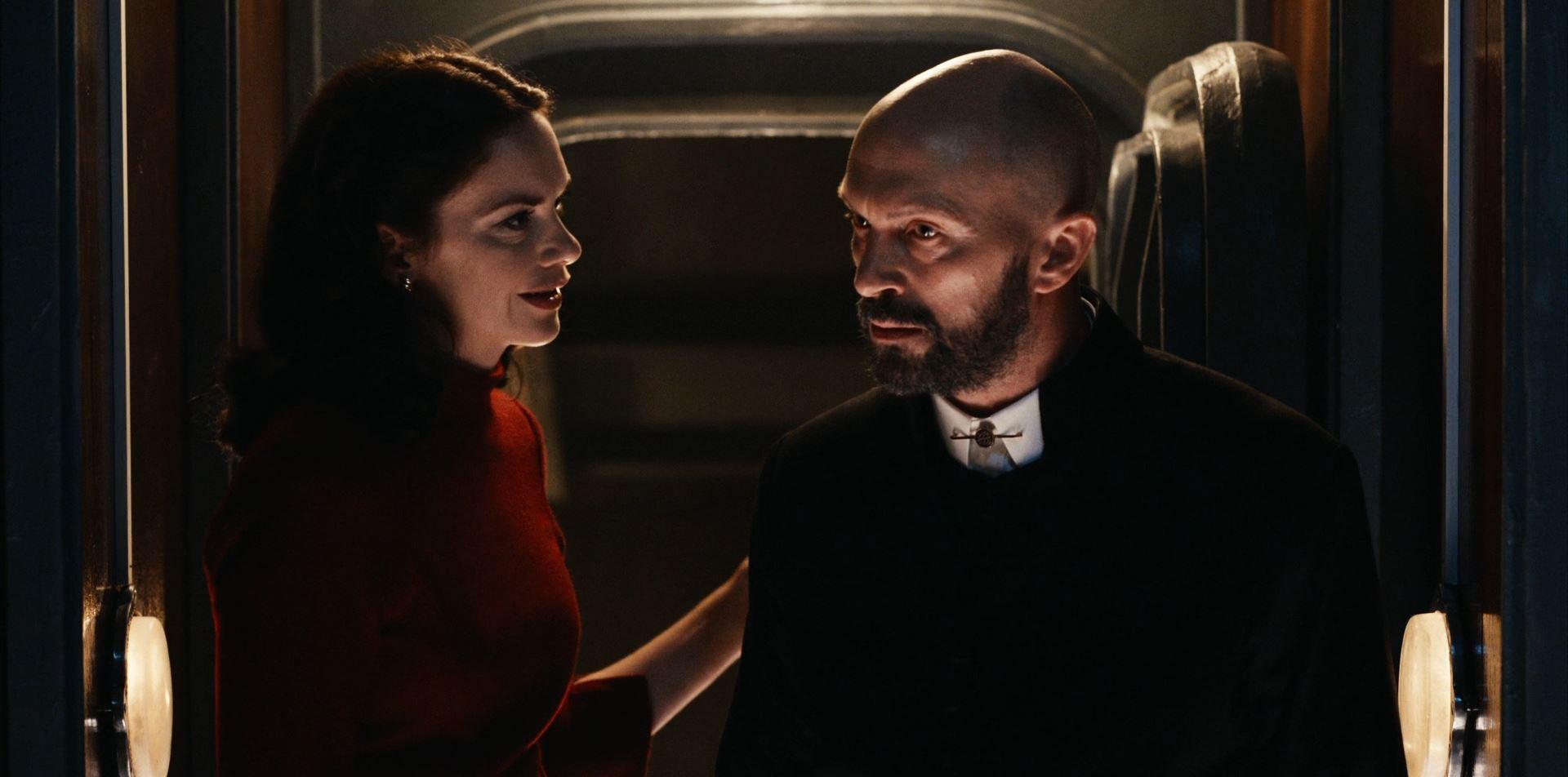 His Dark Materials Marisa and Father MacPhail